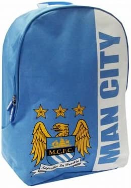 Manchester City FC Authentic EPL low-pricing Stripe Direct stock discount Backpack