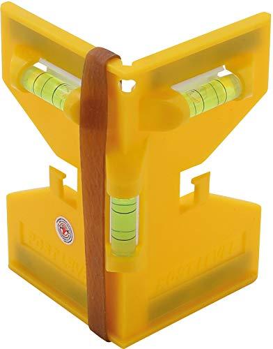Kraftmann 50877 | Pfosten-Winkel-Wasserwaage | Pfostenwasserwaage | Material: Kunststoff