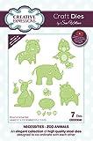 Sue Wilson Necessities-Zoo Animals-Craft Die Troquel para Manualidades, metálico, 4.1 x 2.9