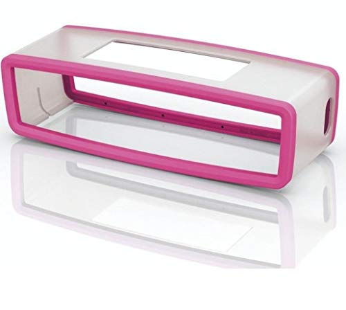Colorful Für Bose SoundLink Mini Bluetooth Lautsprecher Schutzhülle, Mini Lautsprecher Silikon Tragetasche Travel Box Hülle Case Schutz für Bose SoundLink Mini Bluetooth Lautsprecher (Hotpink)