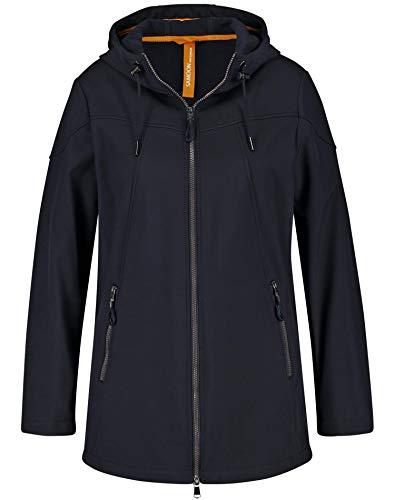 Samoon Damen 350005-21620 Jacke, Blau (Navy 8100), (Herstellergröße: 46)