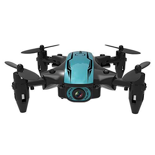 Moniclern CS02 WiFi FPV Drone con videocamera 4K HD/Tap-Fly/Controllo App/modalità Senza Testa per Adulti Quadricottero Drone Ultraleggero e Pieghevole