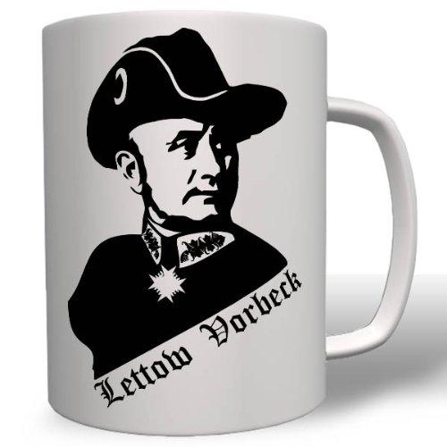 Paul Lettow-Vorbeck Offizier General Schutztruppe Deutsch-Ostafrika Wk- Tasse Kaffee Becher #16690