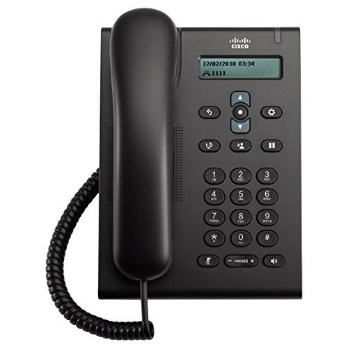 Cisco CP-3905 - Teléfono fijo analógico manos libres, Chocolate