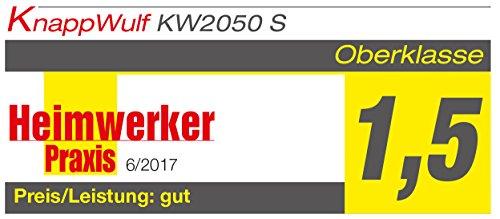 """KnappWulf Kompressor""""mucksmäuschenstill"""" Modell KW2050 8bar Druckluftkompressor 69dB - 3"""