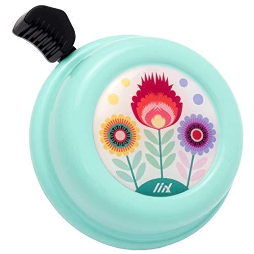 Liix Fahrradklingel Colour Bell, Blumen Pastellgrün, LiixBell