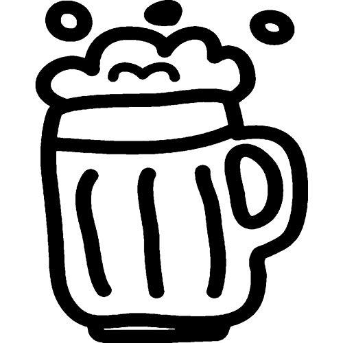 A8 'Glas Bier' Stempel (Unmontiert) (RS00027040)