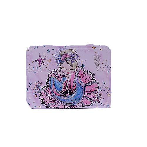 Metalldose Meerjungfrau Vorratsdose mit Deckel