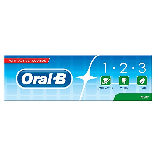 Oral-B Manuell 1 2 3 Fresh Mint Zahnpasta, 75 ml