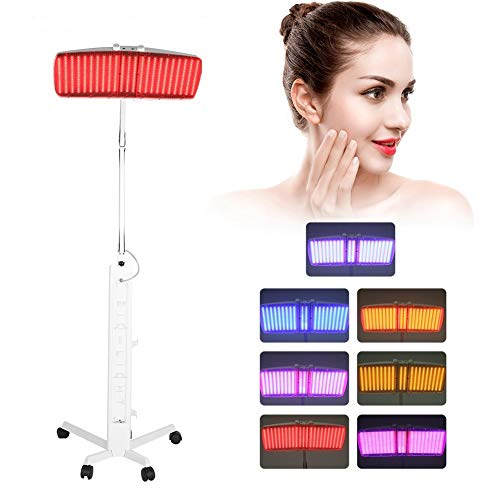 Lowest Prices! Huakii 7 Color LED Light Skin Care Machine, Professional 7 in 1 Skin Care Device for ...