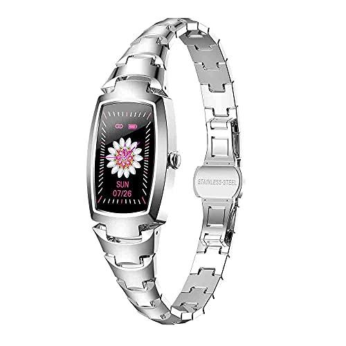 LKXL Smartwatches Pulsera Mujer Pantalla a Color señoras Reloj Control de Salud