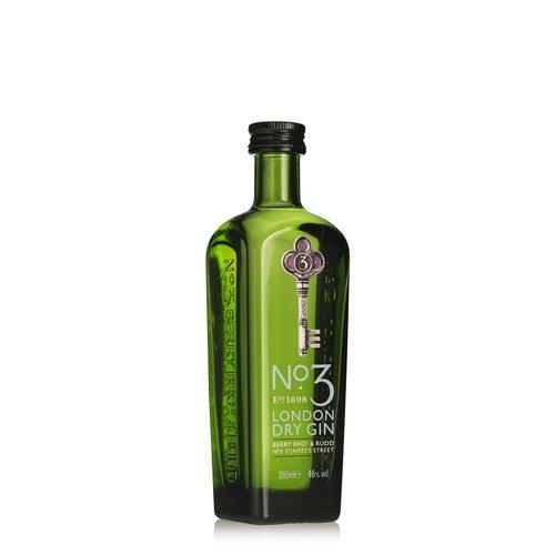 NO. 3 London Dry Gin Miniatur (1 x 0.1 l)