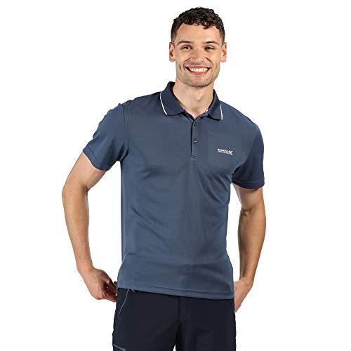 Regatta Maverick V - Polo Deportivo de Secado Rápido T-Shirts/Polos/Vests Hombre