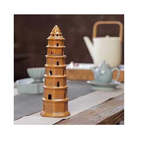 Qianqingkun Zen binnenplaats klokken terug wierook brander toren wierook brander creatieve slinger collectie