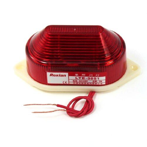 220 V, 3 W, Industriequalität, mit roten LED Strobe Warnlampe Signallampe de