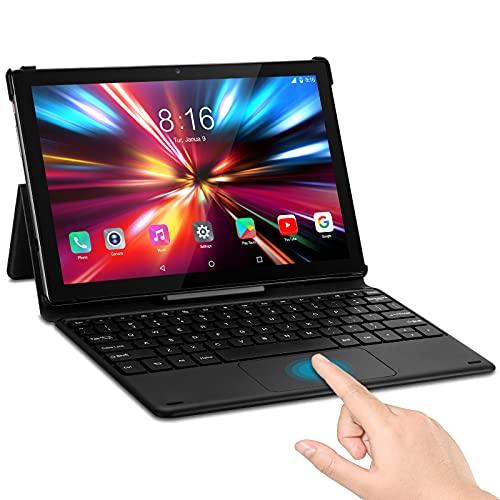 Tablet 10 Pollici da Gioco - TOSCIDO T50 Android 10.0, Octa Core 2.0 GHz,128GB, 6GB di RAM, 1920 * 1200 FHD,Fotocamera da 13 MP + 5 MP,Doppia SIM 4G LTE e Wi-Fi 5G,GPS, Buletooth 5.0,Face ID - Grigio