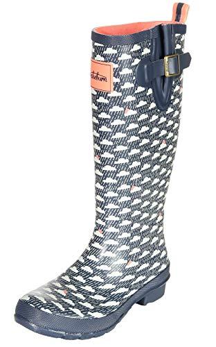 Brakeburn Damen Schuhe Gummistiefel Wolke Rain Cloud Welly BBLFOO002537S19 Navy 38