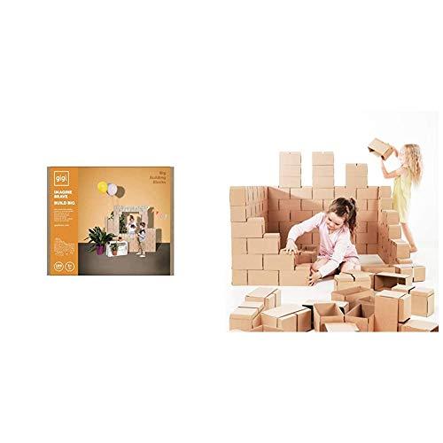 Gigi, Bloks Bloques de Construcción Gigantes de Cartón, Juegos de Construcción para...