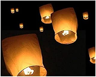 Digital Additions Sky Lanterns for Christmas, New Years Eve, Chinese New Year, Weddings and Parties