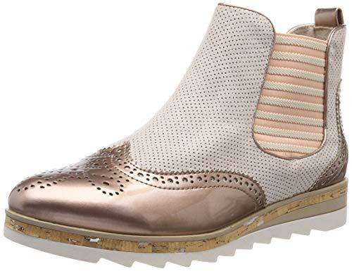 MARCO TOZZI Damen 2-2-25403-32 Chelsea Boots, Pink (Rose Comb 596), 39 EU