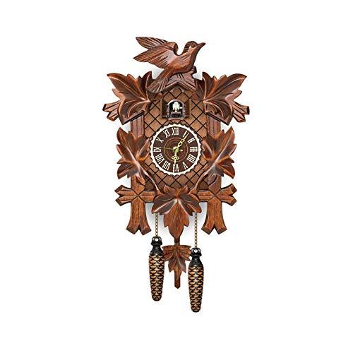 Reloj De Cuco De Madera, Reloj De Cuco En Forma De Reloj...