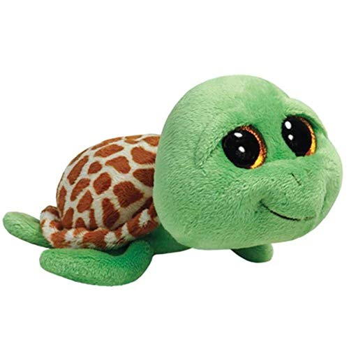 Ty Beanie Boos Zippy Green Turtle
