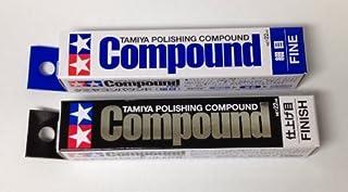 TAMIYA Polishing Compound Fine and Finish SET