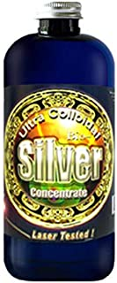 Liquid Silver Solution, 16 Oz, 50 PPM, Silver MTN Minerals, (Medical Purity Silver, Most Bioavailable colloidally Suspende...