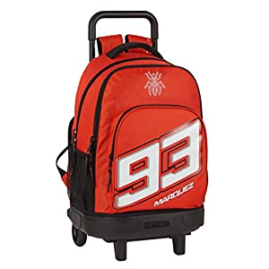 41q0c4JS2bL. SS300  - Mochila Safta Escolar con Carro Incluido y Espalda Acolchada de Marc Márquez, 330x220x450mm