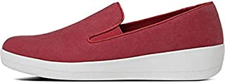 FitFlop Womens Superskate Canvas Loafers