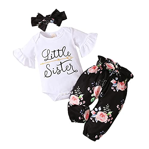 MAI Conjunto de trajes de diadema para niñas pequeñas