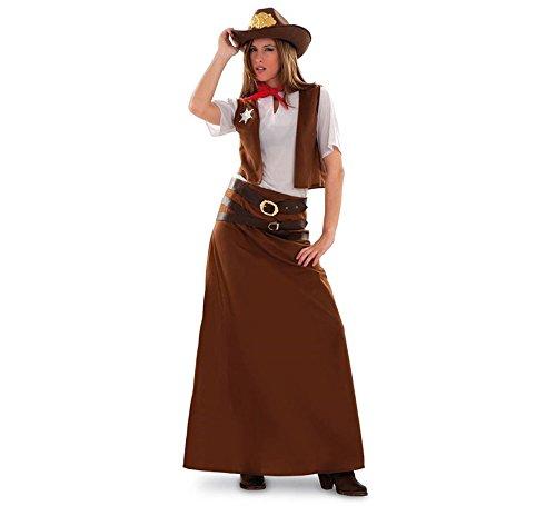 Disfraz de Vaquera para mujer talla M-L