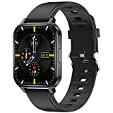 "Q-18 Black <span class='highlight'>Smart</span> <span class='highlight'>Watch</span>, Fitness Tracker, <span class='highlight'>Activity</span> Tracker, 1.7"" HD, Ip68 Reloj Intelligent <span class='highlight'>Bluetooth</span>, Step Counter for Women Men"