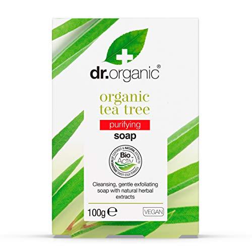 Dr. Organic Arbre de Thé Biologique Savon 100 g