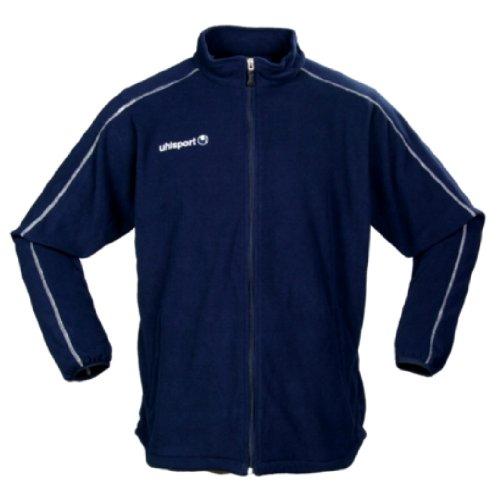 uhlsport Herren Fleece-Jacke, Marine/Silbergrau, XL