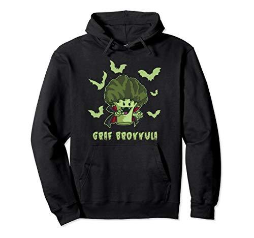 Graf Brokkula - Brokkoli Vampir will deinen grünen Saft Pullover Hoodie