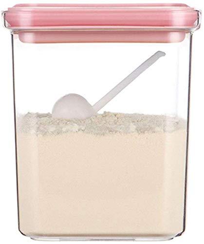 Duurzame Rijst Doos Transparante Melk Poeder Fles Baby Verzegeld Kan Vochtdicht Uitgaan Draagbare Baby Grote Capaciteit Rijst Poeder Doos Fles duurzaam