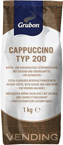 Grubon Cappuccino Typ 200, 10 x 1.000g = 10,00 Kg