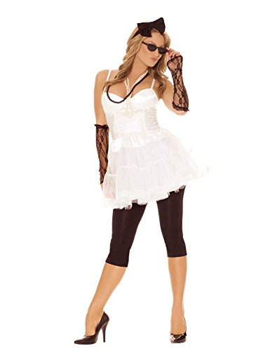 Women's 80s Rock Star Costume., small only