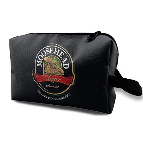 Moosehead Beer Multifunktionale Kosmetiktasche Aufbewahrung Reise Make-up Tasche