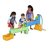 Simplay3 Rushing River Falls Multilevel & Expandable Splash & Water Play Table for Kids - Includes 9 Piece Accessory Kit