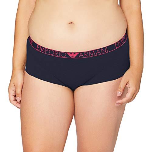 Emporio Armani Underwear Cheeky Pants Intimo, Blu Marine-Blu Marino, L Donna