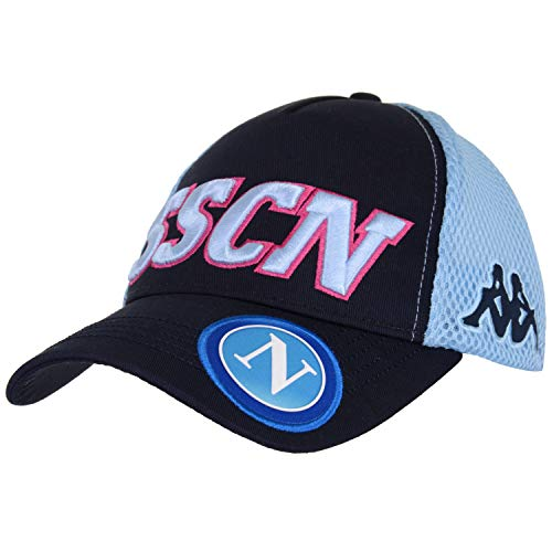SSC NAPOLI Italian Serie A Mens Headwear deep Blue Azure Sky 59