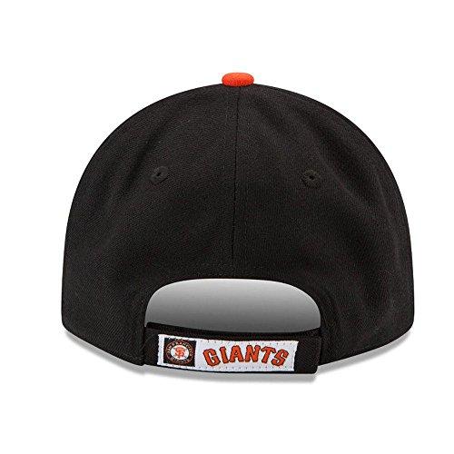 New Era Men's League San Francisco Giants Offical Team Colour Baseball Cap, Black