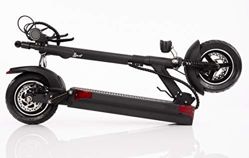 Wizzard 2.5PLUS Elektro City Scooter E Roller 40 km/h - 100 km Reichweite (Schwarz)