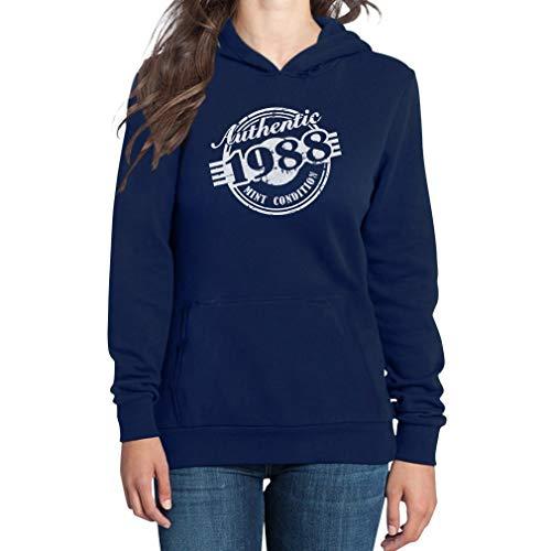 Shirtgeil 30 verjaardag cadeau 1988 mint conditioner dames capuchon pullover hoodie