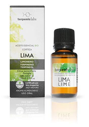 Terpenic evo Lima aceite esencial alimentario bio 10ml. 1 Unidad 250 g