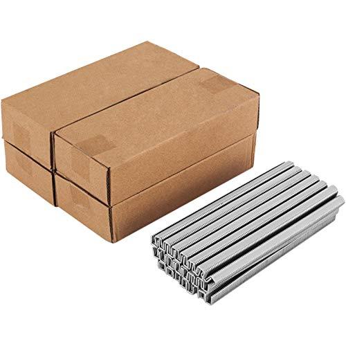VEVOR 5 Kartons 506-Clips für manuelle u-förmige Wurst-Klipper-Schneidemaschine, 5 x 4000 Stk, Brot Schneidemaschine aus A3-Feinstahl, Allesschneider, Lebensmittelschneidemaschine, 28,5 x 18 x 20 cm