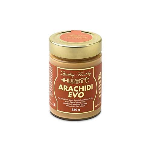 Watt Arachidi Evo, Crema Di Arachidi Spalmabile Con Aggiunta Di Proteive Volac 90, 350 Gram