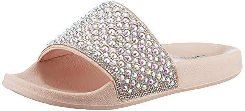 Skechers Damen POP UPS Femme Glam Sandale, Blsh, 36 EU